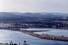 Utsikt från Brännaberget 1962