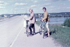 Vid Tallviksbron 1962