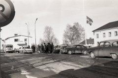 Storgatan i Bränna på 50-talet